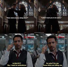 Tony: JUST KISS ALREADY!!