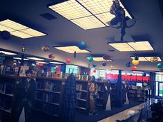 Library decorations
