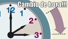 Cambio de hora!!!  (courtesy of @Pinstamatic http://pinstamatic.com)