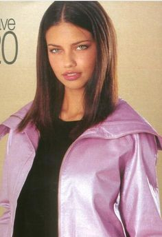 "nhlovesadri: ""Adriana Lima for VS clothing line, from various old catalogues. Adriana Lima Young, Adriana Lima Hair, Adriana Lima Makeup, Adriana Lima Style, Claudia Schiffer, Irina Shayk, Top Models, Adrina Lima, Adriana Lima Victoria Secret"