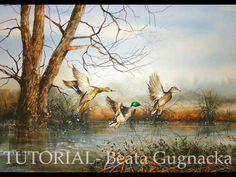 Watercolor Painting -Tutorial - Beata Gugnacka