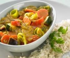 Rezept Gemüsecurry mit Reis von Thermomix Rezeptentwicklung - Rezept der Kategorie Hauptgerichte mit Gemüse
