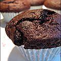 Muffins au chocolat gros comme des champignons atomiques !