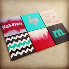 Canvases for college dorm