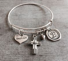 First communion confirmation confirmation gift faith scripture blessed silver bracelet charm bracelet godmother gift god mother goddaughter negle Images