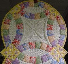 binding double wedding ring quilt | Found on home-and-garden.webshots.com