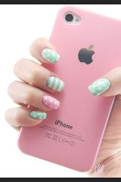 Nails and iPhone