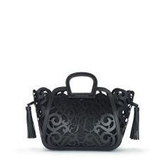 Small Vachetta Scroll Tote - Ralph Lauren Ralph Lauren Handbags - RalphLauren.com
