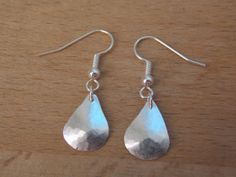 Sterling Silver Earrings with Sterling Silver by MalieCreations, $23.00