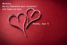 Funny kids quotes about Valentine's Day