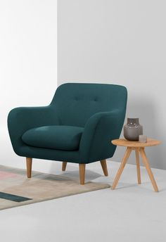 Dylan Armchair, £399 MADE.COM Introducing Dylan. An armchair for the ages. Combining classic mid-century style with up-to-date colour options and detailing. Set against a solid wood frame and sturdy wood legs.