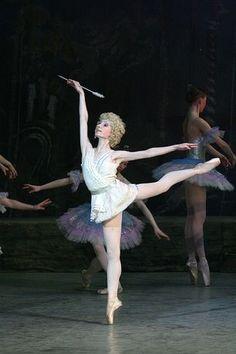 Dmitrieva Yana as Cupid in Don Quixote