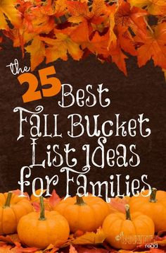 The 25 Best Fall Buc