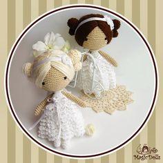 MAGIC DOLLS (SIN PATRoN) on Pinterest Crochet Dolls ...