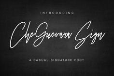 CheGuevara Sign Fuente - Befonts.com