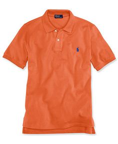 Ralph Lauren Kids Shirt, Boys Short-Sleeve Mesh Polo - Kids Boys 8-20 - Macy's