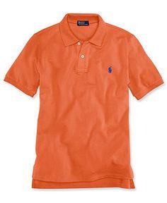 Ralph Lauren Kids Shirt, Boys Short-Sleeve Mesh Polo - Kids Boys 8-20 - Macy's