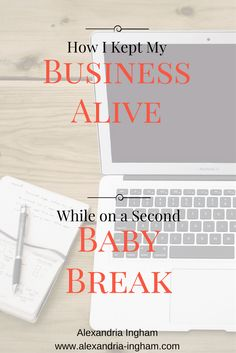 I kept my freelance business alive despite taking a second baby break. In fact, I returned as if nothing happened. Here's how I managed it.  business tips | freelance writing tips | make money writing | wahm tips