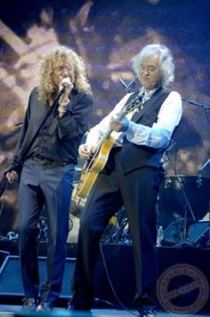 Jimmy Page and Robert Plant, O2 Arena 2007