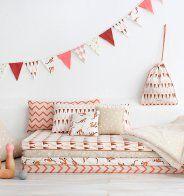 Une chambre d'enfant avec des détails vintage - Marie Claire Maison