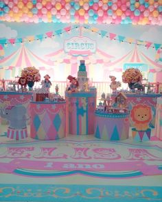 Baby Shower Nena Candy Bars 51 Ideas For 2019 Carousel Birthday Parties, Disneyland Birthday, Carousel Party, Carnival Themed Party, Kids Birthday Themes, Carnival Themes, Circus Birthday, Circus Party, Baby 1st Birthday