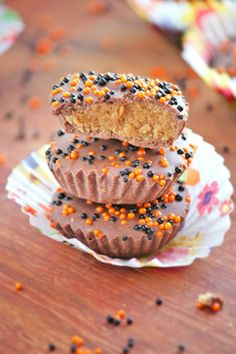 Chocolate Biscoff Cookie Butter Cups
