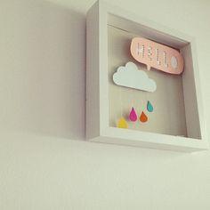 hello cloud art