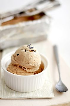 French Earl Gray Tea Ice Cream