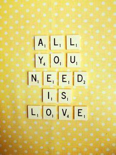 Todo lo que necesitás es <3.  #Frases #MnyArgentina