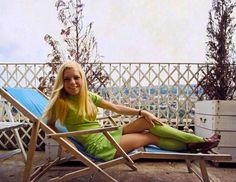 France Gall at her home in Paris in 1968. Photo by Michael Holtz