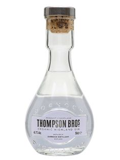 The first ongoing release from The Thompson Brothers, distilled at Dornoch Distillery in Scotland. Combining the brothers' own organic spirit, distilled from floor-malted heritage barley, and top q. Cool Packaging, Packaging Design, Geek Birthday, 30th Birthday, 21st Birthday Checklist, Scottish Gin, London Gin, Gin Distillery, Perfume