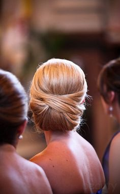 Beautiful updo for a long hair style