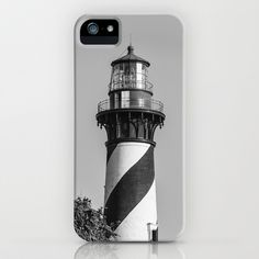 St Augustine Lighthouse iPhone & iPod Case by Keith Dotson - $35.00