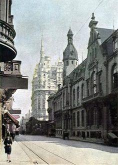 Rincones Porteños. Córdoba y Esmeralda, año 1928.