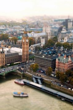 Tilt-shift London by photographer Ben Thomas Oh The Places You'll Go, Places To Travel, Places To Visit, Tilt Shift Photography, London Photography, City Photography, Photography Ideas, Landscape Photos, London England