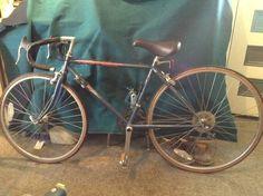 Small 80's Nashbar road bike