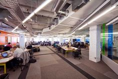 1871, Chicago's new co-working space, incubator and business accelerator. Image © Gensl...