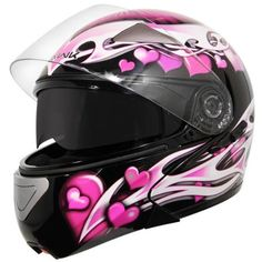 Heart Motorcycle Helmet