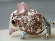 Repin- charming, without sentiment- check out the drawing on the body. Made by Russian artists, follow the link: The W's: Ceramic