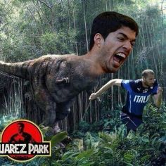 Hilarious Luis Suárez Memes You Can Really Sink Your Teeth Into Funny Soccer Memes, Football Memes, Soccer Quotes, Soccer Pics, Soccer Humor, Soccer Stuff, Best Funny Pictures, Funny Images, Funny Photos