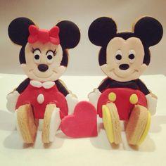 Mickey n minnie cookies