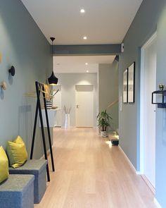 Hallway Colours, Bedroom Wall Colors, House Seasons, Flur Design, Small Apartment Interior, Hallway Inspiration, Hallway Designs, Home Living Room, Design Case