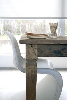 Panton chair (1967). Designer: Verner Panton. Furnishing and interior design by…