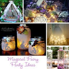 Bring the sparkle to any birthday party or kids activity with the most magical Fairy Party and Craft Ideas!