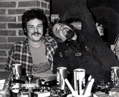 Wolfman Jack and Burton Cummings of The Guess Who - I loved the Wolfman. Burton Cummings, Wolfman Jack, Moving To Toronto, The Guess Who, Baboon, Naive, Back In The Day, How To Fall Asleep, Childhood Memories