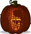Pumpkin Carving Patterns and Stencils - Def gonna try this - Pinhead pumpkin pattern - Hellraiser
