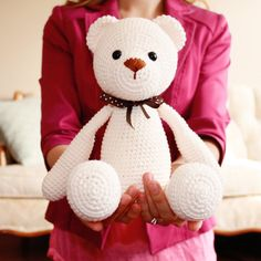 You are looking at the cuties teddy bear in the world. He is super soft and super cute! Imaging your baby sleeping in a crib and hugging this super hero teddy bear that will guard your baby from nightmares. This teddy bear will become a great gift on birthday or baby shower. From ears to toes