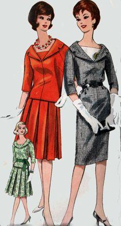 Vintage 60s Sewing Pattern VOGUE 5250