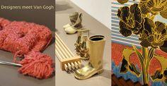 Design uit het land van de aardappeleters - vormgevers ontmoeten Van Gogh, 24 januari t/m 26 april 2015 in het Noordbrabants Museum #dutchdesign