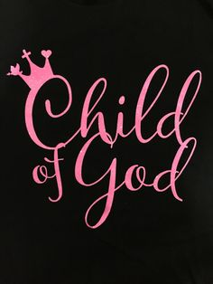 """In the bible, God reminded us many times that we are the Children of God. We are the princes and princesses in Heaven. We carried His cross on our back, then walked out with the crowns on our heads. """""""